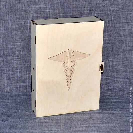 ДД-04-008. Аптечка большая. Удобная и вместительная. В комплект входят петли и шурупы.