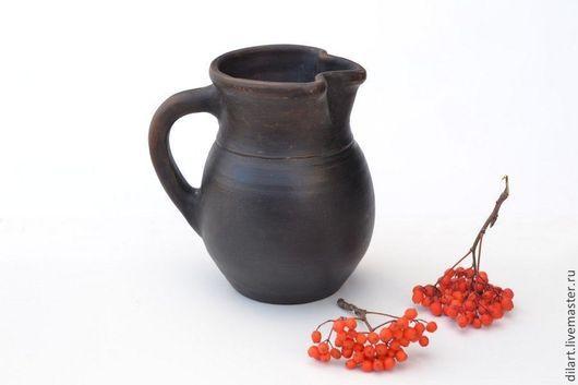 Графины, кувшины ручной работы. Ярмарка Мастеров - ручная работа. Купить Глиняный  хорватский кувшин Пыль времен. Handmade.