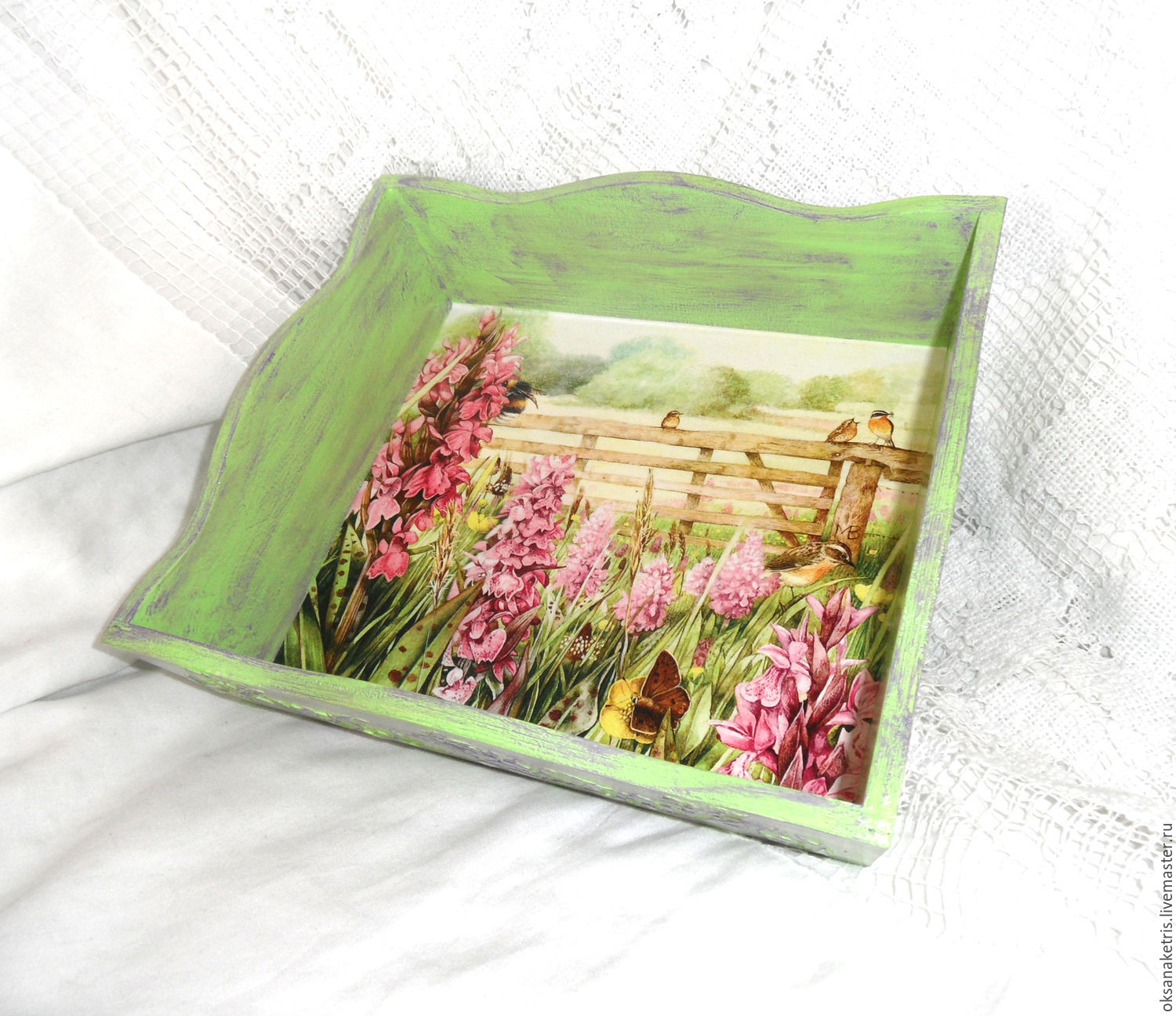 Plate - minodronic Honey meadow, Candy Dishes, Novosibirsk,  Фото №1