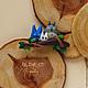 Броши ручной работы. Ярмарка Мастеров - ручная работа. Купить Тоторо и ко. Handmade. Мультяшный герой, деревья, полимерная глина