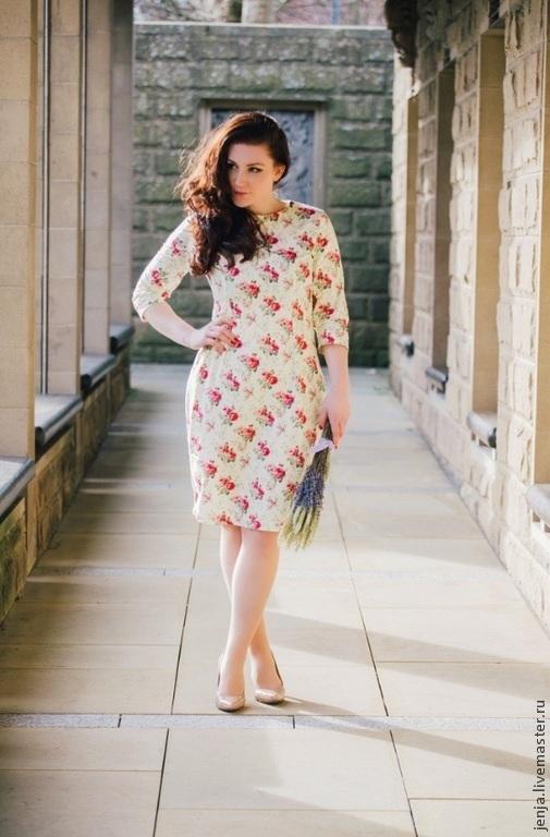 Платья ручной работы. Ярмарка Мастеров - ручная работа. Купить English rose dress cream by Candy Cottons. Handmade.