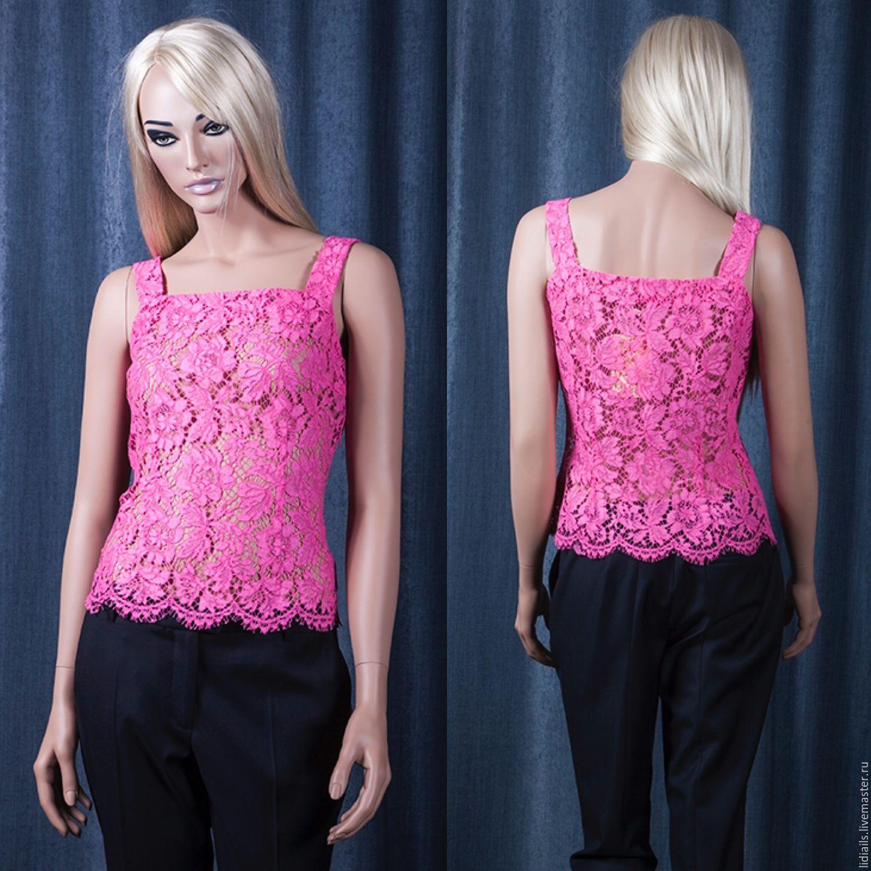 Pink lace top, Tops, Nizhny Novgorod,  Фото №1