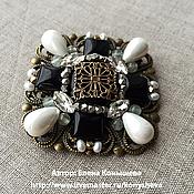 Украшения handmade. Livemaster - original item Brooch Vintage delicate. Handmade.