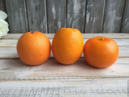 Материалы для флористики ручной работы. Ярмарка Мастеров - ручная работа. Купить Апельсин декоративный. Handmade. Оранжевый