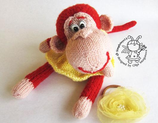 """Обучающие материалы ручной работы. Ярмарка Мастеров - ручная работа. Купить Мастер-класс """"Маленькая обезьянка - егоза"""". Handmade. Рыжий"""