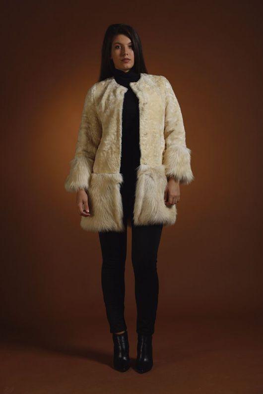 Верхняя одежда ручной работы. Ярмарка Мастеров - ручная работа. Купить Шубка SnowWine. Handmade. Шубка из каракуля, каракуль
