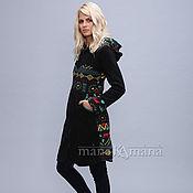 Одежда handmade. Livemaster - original item Fleece coat with large hood. Handmade.