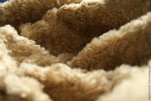Куклы и игрушки ручной работы. Ярмарка Мастеров - ручная работа. Купить Японский шелк для Тедди, 18 мм. Handmade. Коричневый
