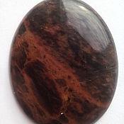 Материалы для творчества handmade. Livemaster - original item Obsidian. cabochon. Handmade.
