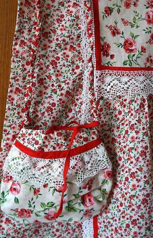 Платья ручной работы. Ярмарка Мастеров - ручная работа. Купить Летний комплект. Handmade. Платье, вологодское кружево
