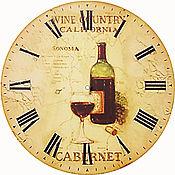 Для дома и интерьера ручной работы. Ярмарка Мастеров - ручная работа часы настенные в стиле ретро большие. Handmade.