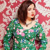 Одежда ручной работы. Ярмарка Мастеров - ручная работа Блуза Розы для Тани. Handmade.