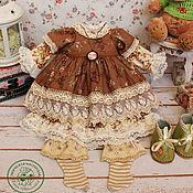 Куклы и игрушки handmade. Livemaster - original item Clothes for dolls. Kit stitched doll Eliza.. Handmade.