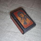 Сумки и аксессуары handmade. Livemaster - original item Cigarette case (sigaretta). Vladimir Semenovich. Handmade.