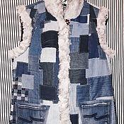 Одежда ручной работы. Ярмарка Мастеров - ручная работа Жилет, ручная работа. Handmade.