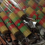 Сувениры и подарки ручной работы. Ярмарка Мастеров - ручная работа Свеча медовая (пчелиный воск). Handmade.