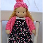 Куклы и игрушки ручной работы. Ярмарка Мастеров - ручная работа Алиночка, вальдорфская кукла. Handmade.