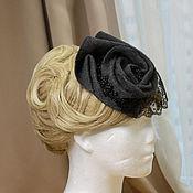 handmade. Livemaster - original item Evening hat Exclusive. Handmade.