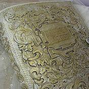 Канцелярские товары handmade. Livemaster - original item Photo album leather Wedding vintage engraved. Handmade.