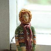 Подарки к праздникам ручной работы. Ярмарка Мастеров - ручная работа Ватная игрушка на ёлку Лев. Handmade.