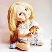 Куклы и игрушки ручной работы. Ярмарка Мастеров - ручная работа Авторская кукла В ожидании чуда. Handmade.