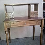 Для дома и интерьера ручной работы. Ярмарка Мастеров - ручная работа Деревянный столик (001). Handmade.