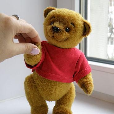 Куклы и игрушки ручной работы. Ярмарка Мастеров - ручная работа Миша Пух. Handmade.