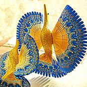 Подарки ручной работы. Ярмарка Мастеров - ручная работа Подарки: Синяя Птица счастья для молодых. Handmade.