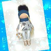Куклы и игрушки manualidades. Livemaster - hecho a mano la mueca de la esquiadora. Handmade.