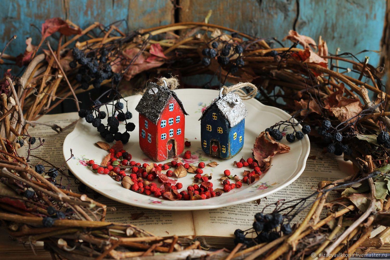 Домики подвески. Два домика, Подвески, Донецк,  Фото №1