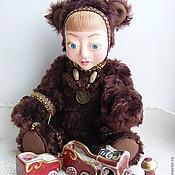 Куклы и игрушки ручной работы. Ярмарка Мастеров - ручная работа тедди-долл Мишка. Handmade.