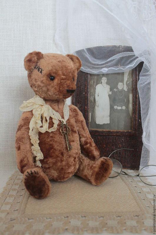 Мишки Тедди ручной работы. Ярмарка Мастеров - ручная работа. Купить Мишка Тедди  Родом из детства. Handmade. Коричневый