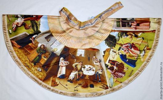 юбка, Семь смертных грехов и Четыре последние вещи, 1475—1480 Босх, Иероним.