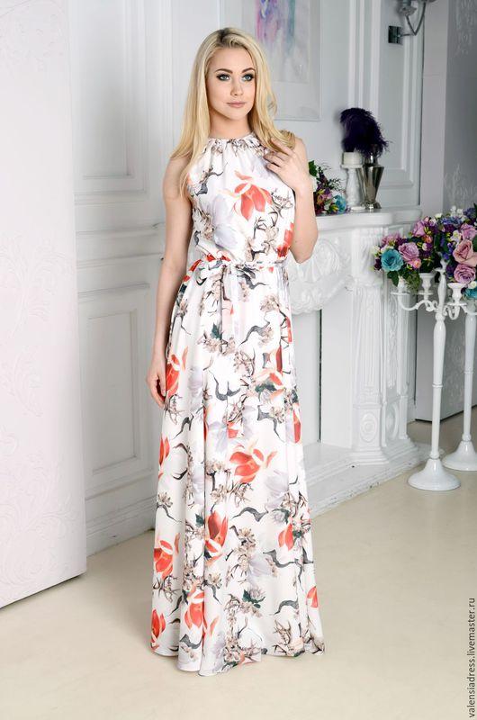 сарафан летний, сарафан длинный в пол, платье летнее