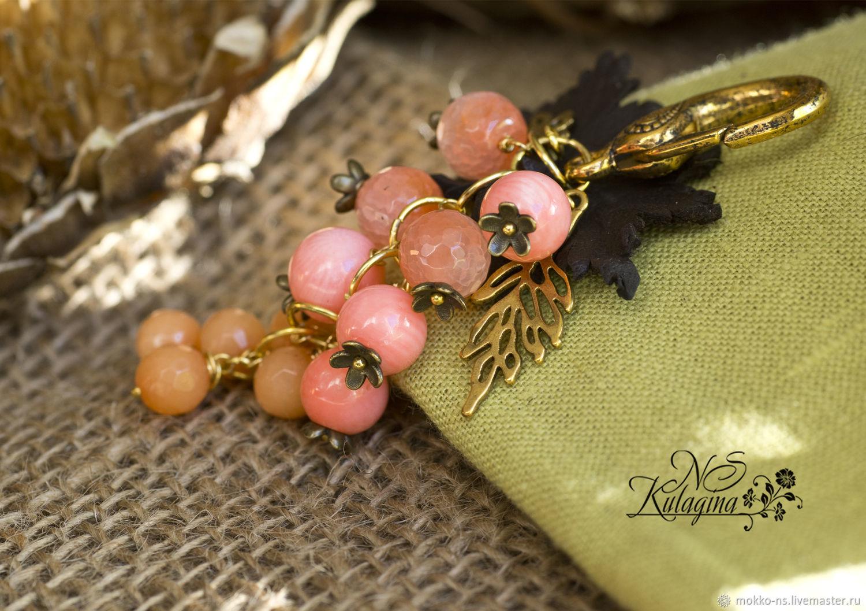 Брелок Розовый виноград
