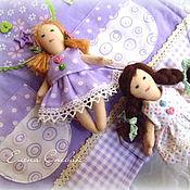 Куклы и игрушки ручной работы. Ярмарка Мастеров - ручная работа Сумочка-домик для кукол. Handmade.
