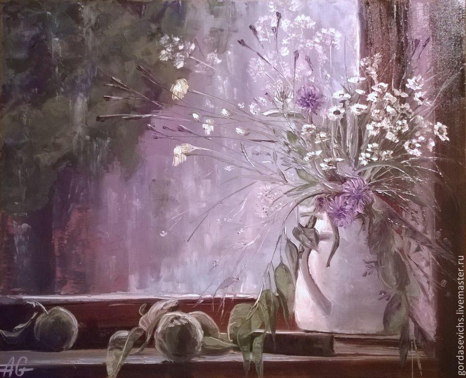 А за окном туман... Картина маслом, холст, Картины, Житомир,  Фото №1