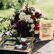 Свадебный салон ручной работы. Ярмарка Мастеров - ручная работа Виноградная свадьба. Handmade.