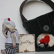 Куклы и игрушки ручной работы. Ярмарка Мастеров - ручная работа Маленький слон. Handmade.