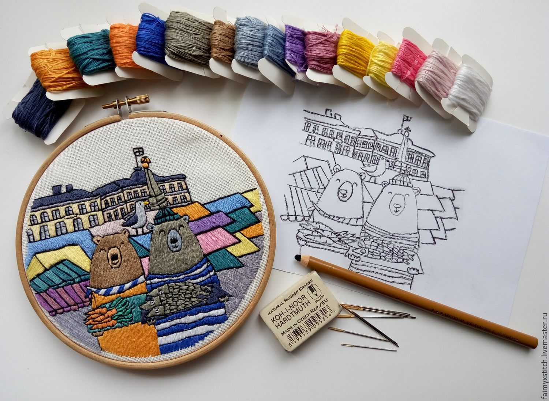 The Scheme For Embroidery Stitch Helsinki Shop Online On