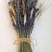 Цветы и флористика handmade. Livemaster - original item Bouquet of dried lavender. Handmade.