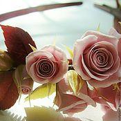 """Украшения ручной работы. Ярмарка Мастеров - ручная работа Ободок """"Любимый цвет"""". Handmade."""