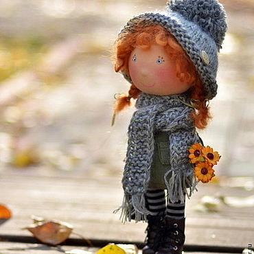 Куклы и игрушки ручной работы. Ярмарка Мастеров - ручная работа Рыжее чудо))). Handmade.
