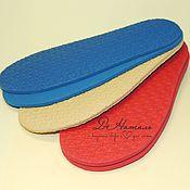 Материалы для творчества ручной работы. Ярмарка Мастеров - ручная работа Подошва микропора для обуви, подошва резиновая. Handmade.