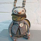 Куклы и игрушки ручной работы. Ярмарка Мастеров - ручная работа Заяц Бим. Handmade.