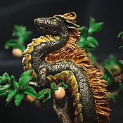 Для дома и интерьера ручной работы. Ярмарка Мастеров - ручная работа Интерьерное украшение Фуцанлун китайский дракон. Handmade.