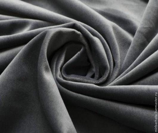 Натуральный бархат. Производство Италия. Ширина ткани - 150 см Состав ткани - 100% СО Стоимость ткани - 23 $ за погонный метр.