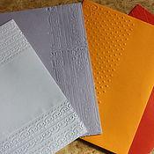 Сувениры и подарки handmade. Livemaster - original item Envelope with embossed. Handmade.