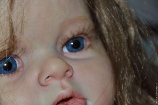 Куклы-младенцы и reborn ручной работы. Ярмарка Мастеров - ручная работа. Купить Оливия. Handmade. Синий, молд