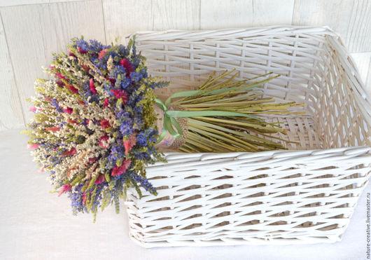 Букеты ручной работы. Ярмарка Мастеров - ручная работа. Купить «Вероника» букет из сухоцветов. Handmade. В эко стиле, для фотосесии